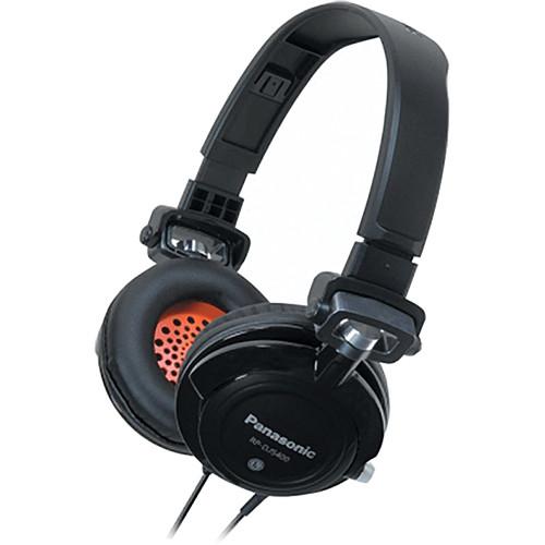 Panasonic RP-DJS-400 DJ Street Style Headphones (Black)