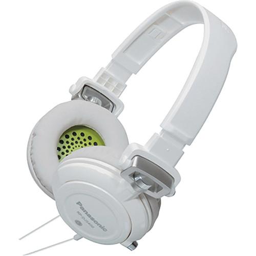 Panasonic RP-DJS-400 DJ Street Style Headphones (White)