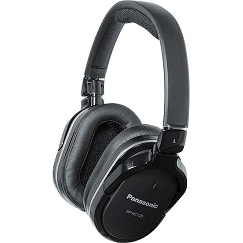 Panasonic RP-HC720-K Noise-Canceling Stereo Headphones