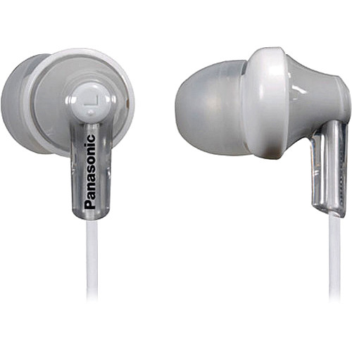 Panasonic RP-HJC120 In-Ear Headphones with Mic and Remote (White)