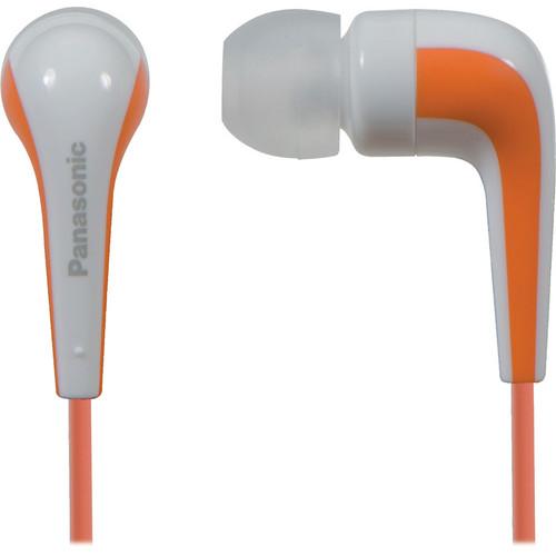 Panasonic RP-HJE140 L-Shaped Earbuds (Orange)