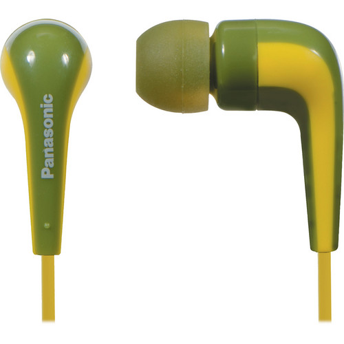 Panasonic RP-HJE140 L-Shaped Earbuds (Green)