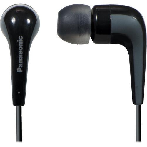 Panasonic RP-HJE140 L-Shaped Earbuds (Black)