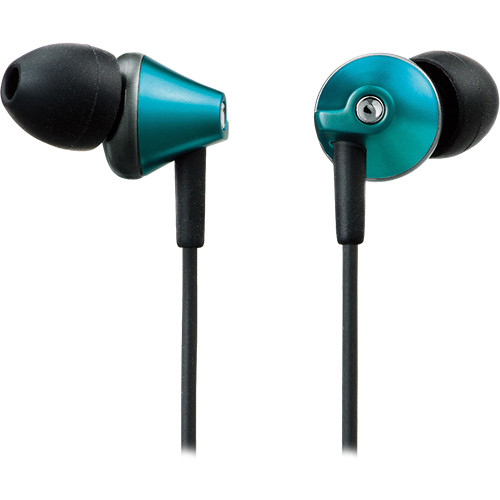 Panasonic RP-HJE290 In-Ear Stereo Headphones (Blue)