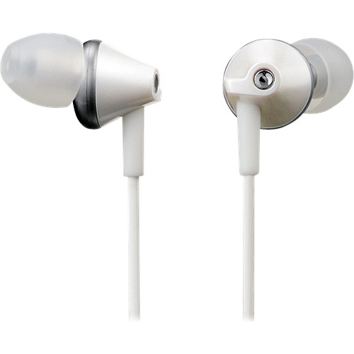 Panasonic RP-HJE290 In-Ear Stereo Headphones (White)