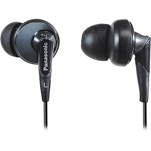 Panasonic RP-HJE450 In-Ear Stereo Headphones (Black)