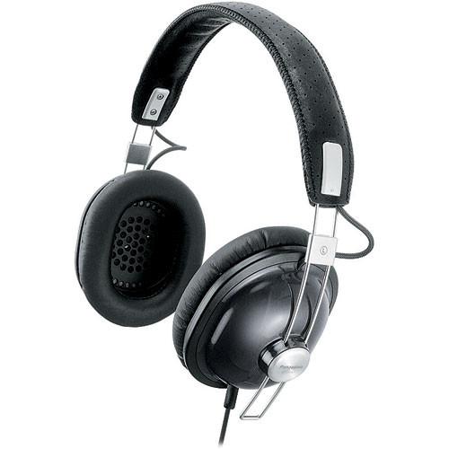Panasonic RP-HTX7 Around-Ear Stereo Headphones (Black)