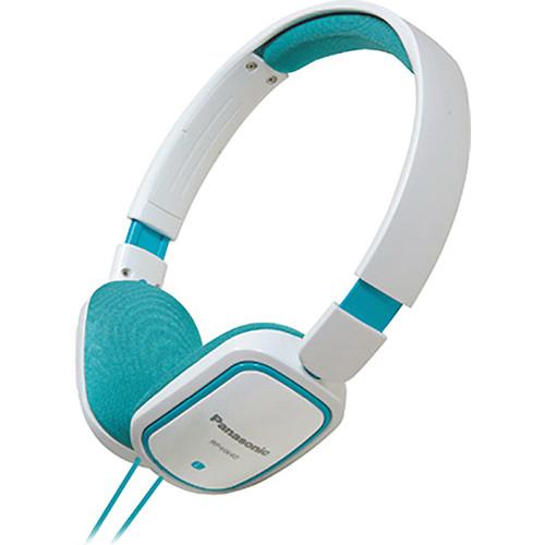 Panasonic RP-HX40 Lightweight On-Ear Stereo Headphones (Blue)