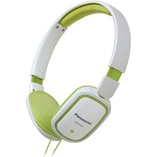 Panasonic RP-HX40 Lightweight On-Ear Stereo Headphones (Green)