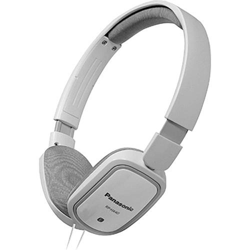 Panasonic RP-HX40 Lightweight On-Ear Stereo Headphones (White)