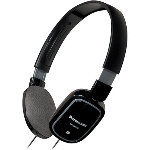 Panasonic RP-HXC40 Lightweight Headphones (Black)