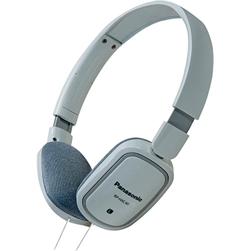 Panasonic RP-HXC40 Lightweight Headphones (White)
