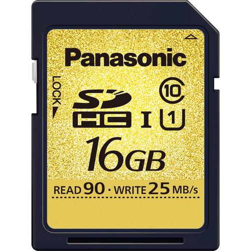 Panasonic 16GB SDHC Memory Card Class 10 UHS-I