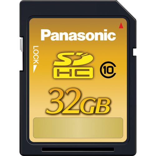Panasonic 32GB SDHC Gold Series Memory Card