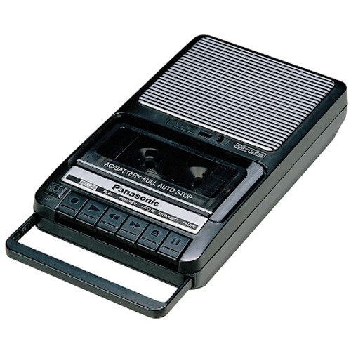 Panasonic RQ-2102 Portable Cassette Recorder