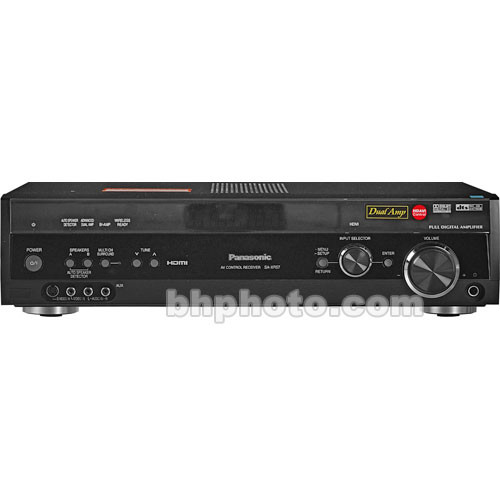 Panasonic SA-XR57 100 Watts per Channel x6, Receiver (Black)