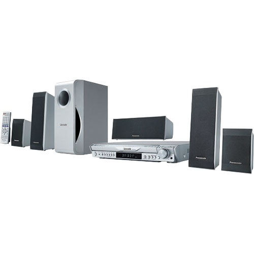 Panasonic SC-HT440 5-DVD Changer Wireless Home Theater System
