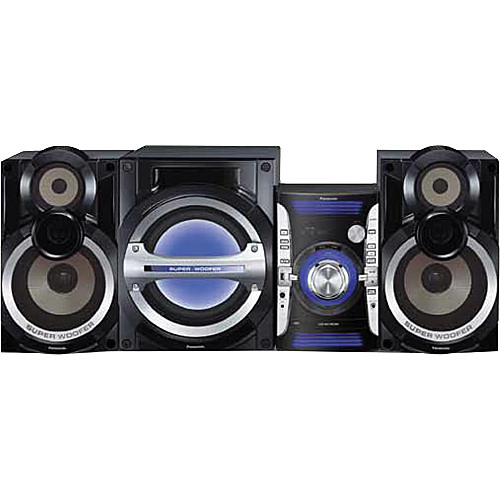 Panasonic Sc Akx73 2 1 Ch Cd Stereo System Sc Akx73 B Amp H Photo