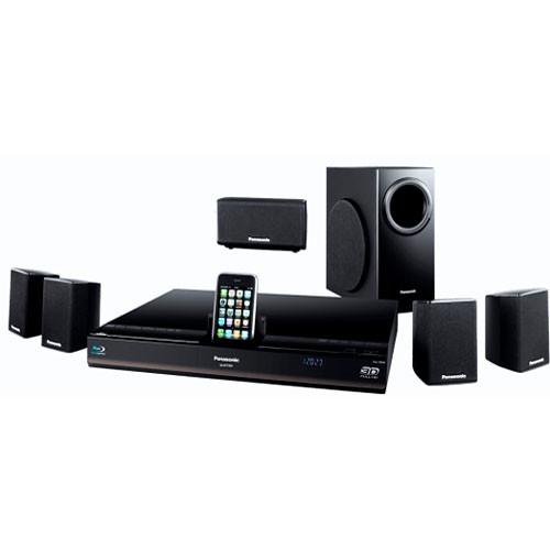 Panasonic SC-BTT350 3D Blu-ray Home Theater System
