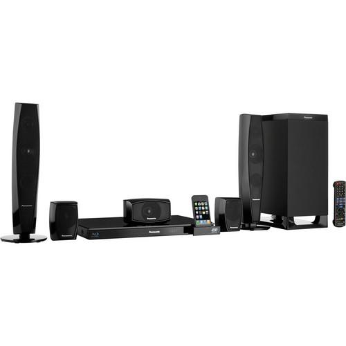 Panasonic SC-BTT370 Full HD 3D Blu-ray Home Theater System