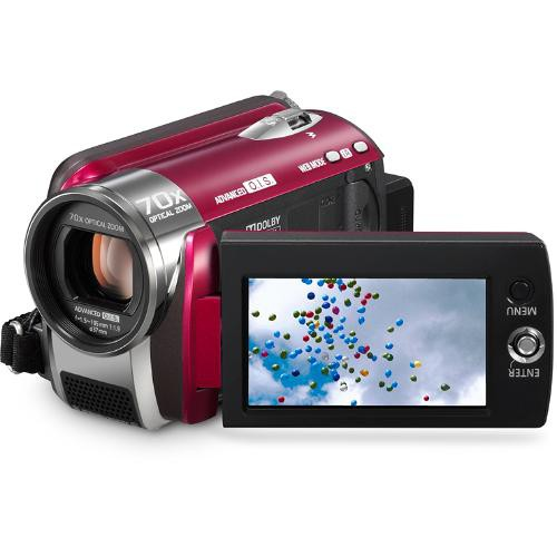 Panasonic SDR-H80 60GB Standard Definition Camcorder (Red)