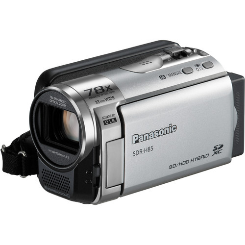 Panasonic SDR-H85 Standard Definition Camcorder (Silver)