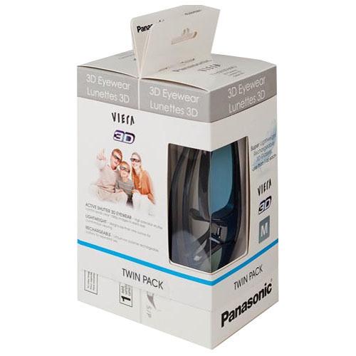 Panasonic Twin Pack of Active Shutter 3D Eyewear (TY-EW3D3MPK2)
