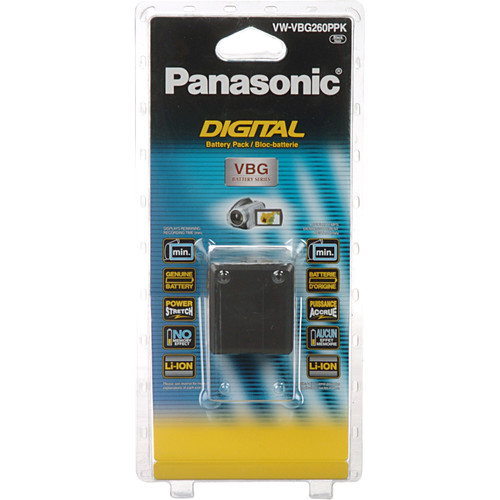 Panasonic VW-VBG260 7.2V Lithium-Ion Battery Pack