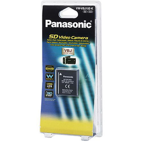 Panasonic VW-VBJ10 Lithium-ion Battery (1000mAh)