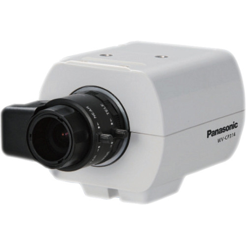 Panasonic WV-CP300 Series 650 TVL Day/Night IR Dual Voltage Fixed Indoor Camera (No Lens)