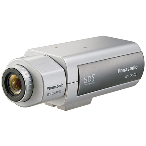 Panasonic WVCP500 Super Dynamic 5 Day/Night Camera (120 VAC)