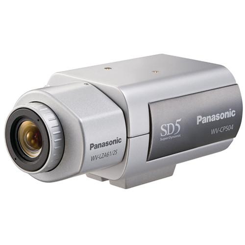 Panasonic WVCP504 Super Dynamic 5 Day/Night Camera