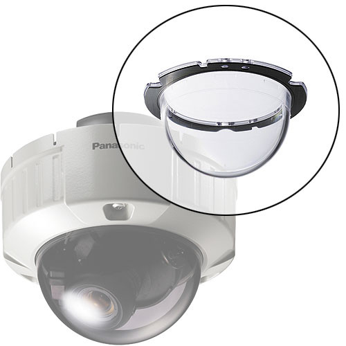 Panasonic WV-CW4C Clear Dome Cover for WV-CW484 Series Cameras