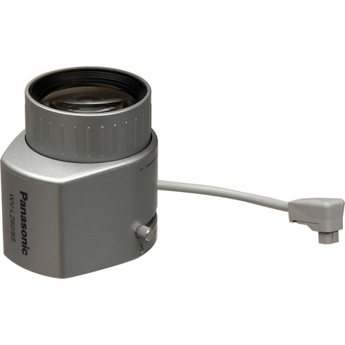 "Panasonic WV-LZ62/8S 1/3"" 5-40mm Special-C-Mount Vari-Focal Lens with Auto Iris"