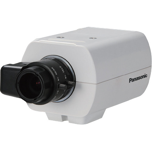 Panasonic WV-CP300 Series 650 TVL Day/Night IR Dual Voltage Fixed Camera (No Lens)