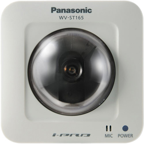 Panasonic WV-ST165 H.264 Pan-Tilt HD Network Camera (NTSC)