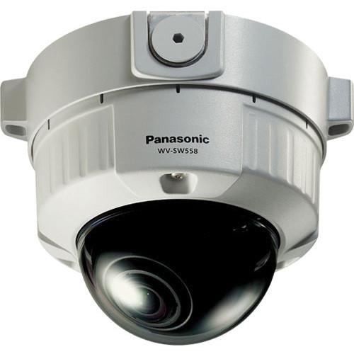 Panasonic WV-SW558 Super Dynamic Full HD Vandal Resistant Dome Network Camera