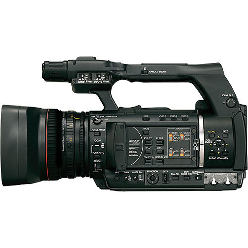 Panasonic AG-AC120 PAL AVCCAM Professional Camcorder
