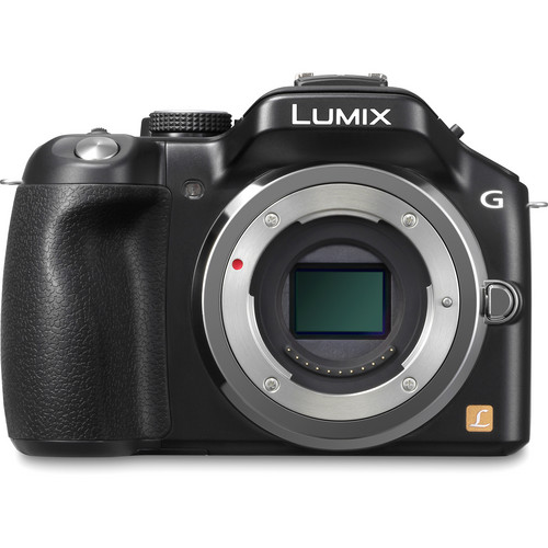 Panasonic Lumix DMC-G5 Mirrorless Micro Four Thirds Digital Camera (Black)