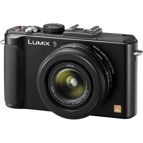 Panasonic Lumix DMC-LX7 Digital Camera (Black)