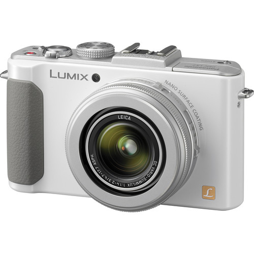 Panasonic Lumix DMC-LX7 Digital Camera (White)
