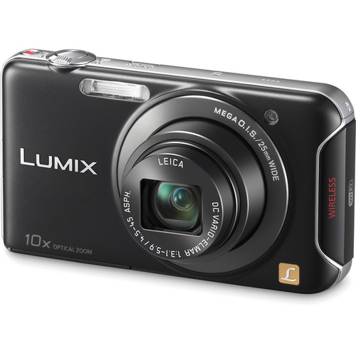 Panasonic Lumix DMC-SZ5 Digital Camera (Black)