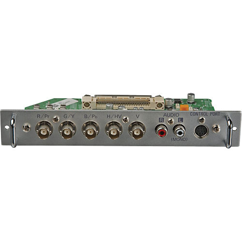 Panasonic SA 5-BNC RGBHV/Component Video Board