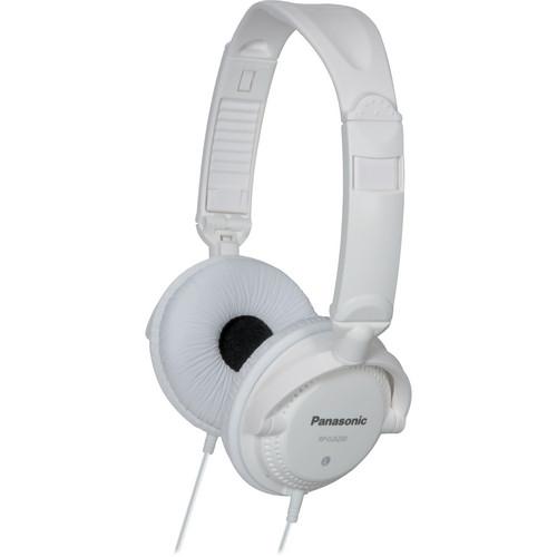 Panasonic RP-DJS200 DJ-Style Headphones (White)