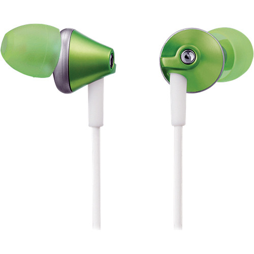Panasonic RP-HJE295 In-Ear Headphones (Green)