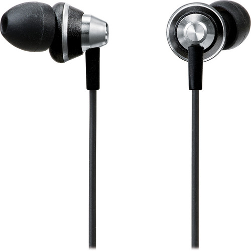 Panasonic RP-HJE355 Ergo-Fit Earbuds (Black)