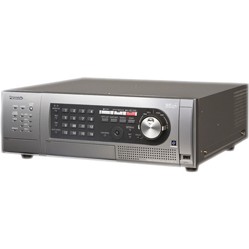 Panasonic WJ-HD716 16-Channel H.264 Digital Disk Recorder (8 TB)
