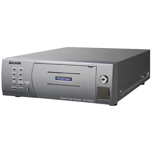 Panasonic WJ-ND200 Network Video Recorder (500 GB HDD, NTSC)