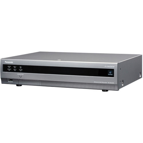 Panasonic WJ-NV200 Network Disk Recorder with DVD Drive (3 TB)