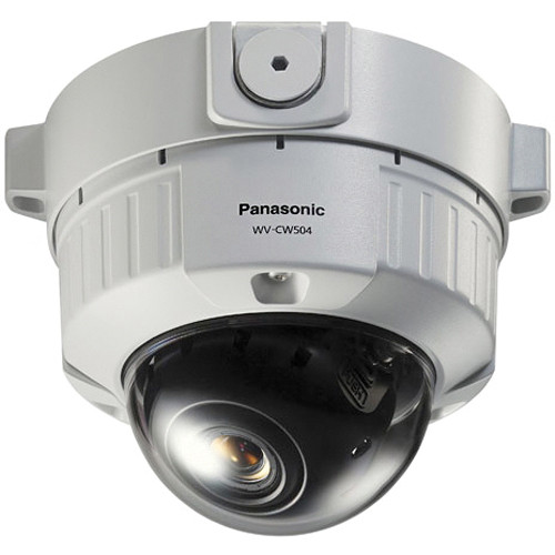 Panasonic Super Dynamic 5 Vandal-Resistant Fixed Dome Camera (9 to 22mm Lens, NTSC)